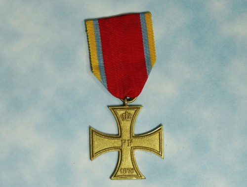 MECKLENBURG SCHWERIN - MILITARY SERVICE CROSS - 2nd CLASS - 1870 - NON COMBATANTS - Imperial German Military Antiques Sale