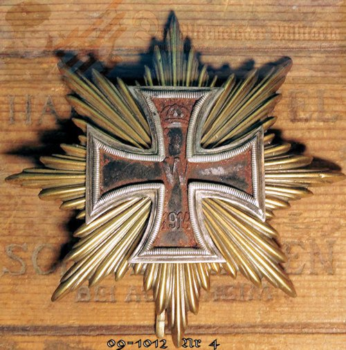 IRON CROSS - 1914 - FOUR STARS OF THE GRAND CROSS