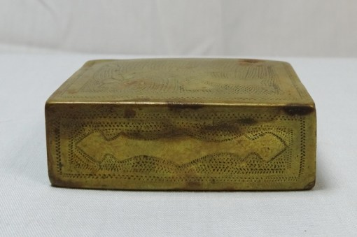 GERMANY - MATCHBOX SAFE - TRENCH ART - Imperial German Military Antiques Sale