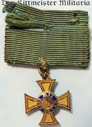 PRUSSIA - MINIATURE - CROWN ORDER 4th CLASS - Imperial German Military Antiques Sale