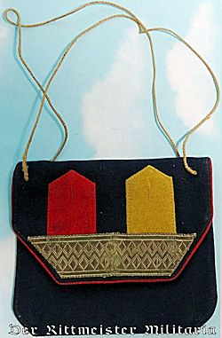GERMANY - PURSE - LADIES SMALL PATRIOTIC CHANGE PURSE - Imperial German Military Antiques Sale