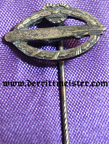 GERMANY - STICKPIN - COMMEMORATIVE ARMY AIRSHIP BADGE - Imperial German Military Antiques Sale