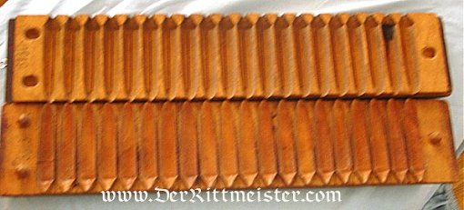 GERMANY - CIGAR FORM FOR DRYING AND TRANSPORTING CIGARS - WOODEN - Imperial German Military Antiques Sale