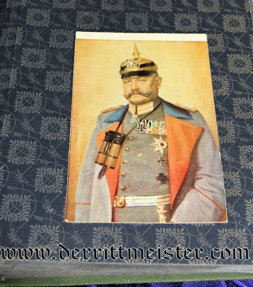 GERMANY - POSTCARD ALBUM - Imperial German Military Antiques Sale