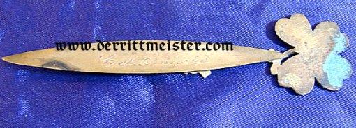 MINI HESSEN LETTER OPENER - Imperial German Military Antiques Sale