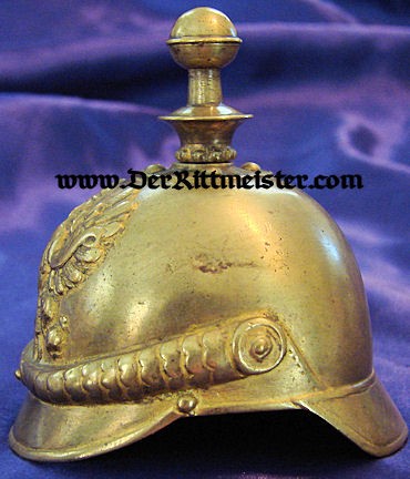 PRUSSIAN KUGELHELM BELL - Imperial German Military Antiques Sale