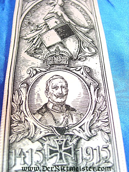 VIVAT RIBBON - 500 YEAR ANNIVERSARY - HOUSE OF HOHENZOLLERN - Imperial German Military Antiques Sale