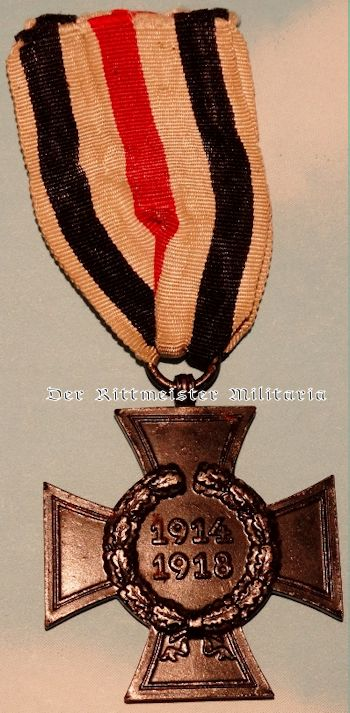 HINDENBURG CROSS FOR NEXT-OF-KIN - Imperial German Military Antiques Sale