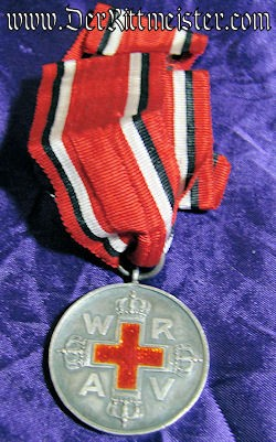 RED CROSS WORKER MEDAL 2nd CLASS - Imperial German Military Antiques Sale
