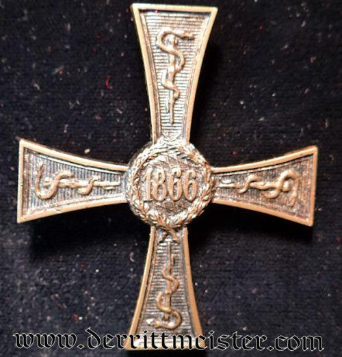 ERINNERUNGSZEICHEN für VERDIENSTLICHE LEISTUNGEN IM KRIEGSJAHRE 1866 für ZIVILÄRZTE - Imperial German Military Antiques Sale