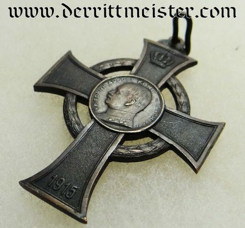 WAR SERVICE CROSS - SAXONY - Imperial German Military Antiques Sale