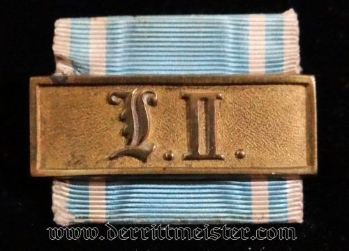 NCO'S TWENTY-ONE-YEARS LONG-SERVICE AWARD - BAVARIA - Imperial German Military Antiques Sale