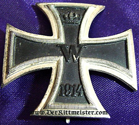 IRON CROSS - 1914 - 1st CLASS LOW VAULTED IN THE ORIGINAL PRESENTATION CASE - Imperial German Military Antiques Sale