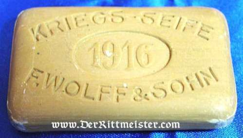 GERMANY - SOAP - 1916 KRIEGS-SOAP IN CONTAINER