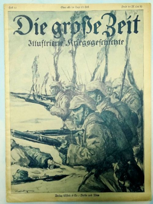 GERMANY - MAGAZINE - DIE GROSSE ZEIT MAGAZINE - Imperial German Military Antiques Sale