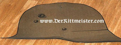 PATRIOTIC IRON CROSS AND STAHLHELM PLAQUES USED AT VETERANS' GROUP MEETINGS - Imperial German Military Antiques Sale