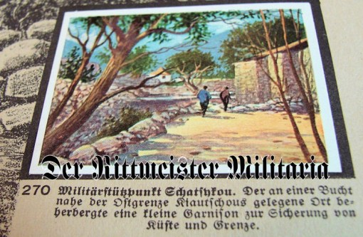 GERMANY COLONIAL - CIGARETTE CARD ALBUM - DEUTSCHE KOLONIEN - Imperial German Military Antiques Sale