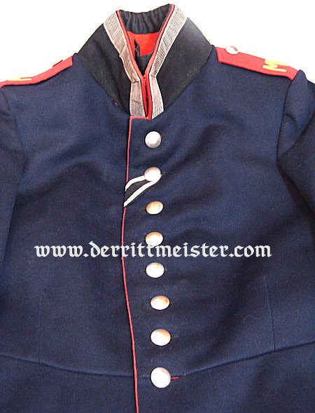 GERMANY - TUNIC - UNTEROFFIZIER - MINENWERFER DETACHMENT - Imperial German Military Antiques Sale