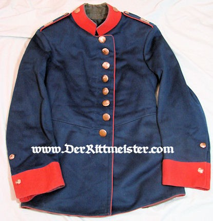 SAXONY - TUNIC - ENLISTEN MAN- GEFREITER INFANTERIE-REGIMENT Nr 139 - Imperial German Military Antiques Sale