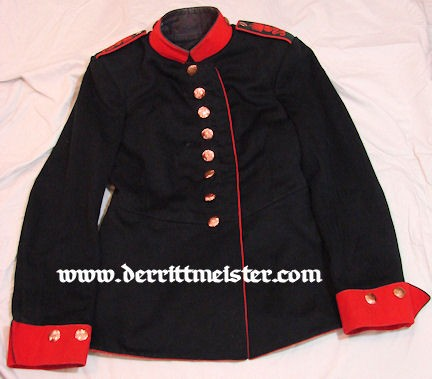 SAXONY - TUNIC - ENLISTED MAN - ARTILLERIE-REGIMENT Nr 32 - Imperial German Military Antiques Sale