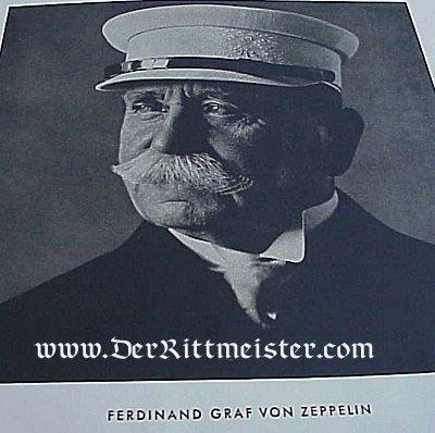GERMANY - CIGARETTE CARD ALBUM VOLUME 1 - ZEPPELIN - Imperial German Military Antiques Sale