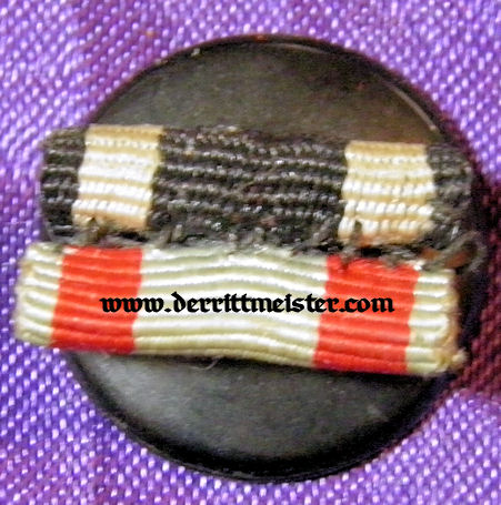 HESSE DARMSTADT - BOUTONNIERE - TWO-PLACE RIBBON - Imperial German Military Antiques Sale