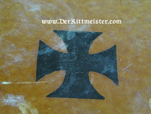 GERMANY - SERVING TRAY - METAL - FEATURING IRON CROSS - Imperial German Military Antiques Sale