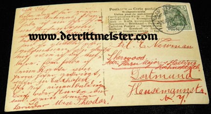 POSTCARD - CROWN PRINCE WILHELM - OLDEST SON - Imperial German Military Antiques Sale