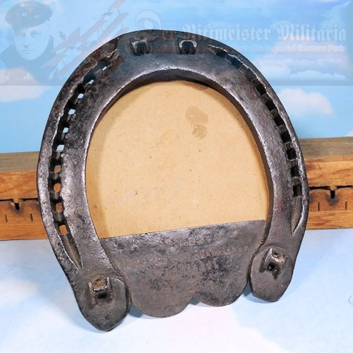GERMANY - PATRIOTIC  FRAME - HORSESHOE - 1917 - Imperial German Military Antiques Sale