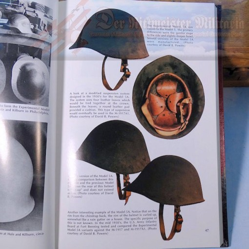 U.S. - BOOK - STEEL POTS - BY CHRIS ARMOLD - Imperial German Military Antiques Sale