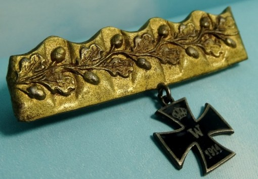 GERMANY - PATRIOTIC PIN - ARTILLERY SHELL - Imperial German Military Antiques Sale