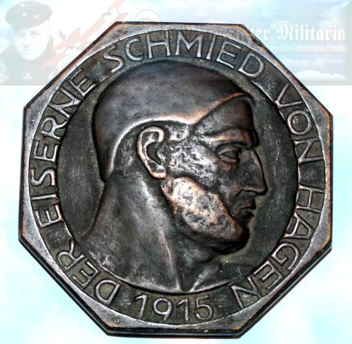 TABLE MEDAL - ORIGINAL PRESENTATION CASE - Imperial German Military Antiques Sale
