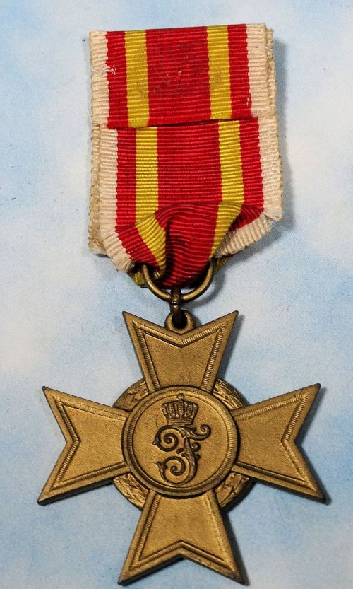 BADEN - WAR SERVICE CROSS