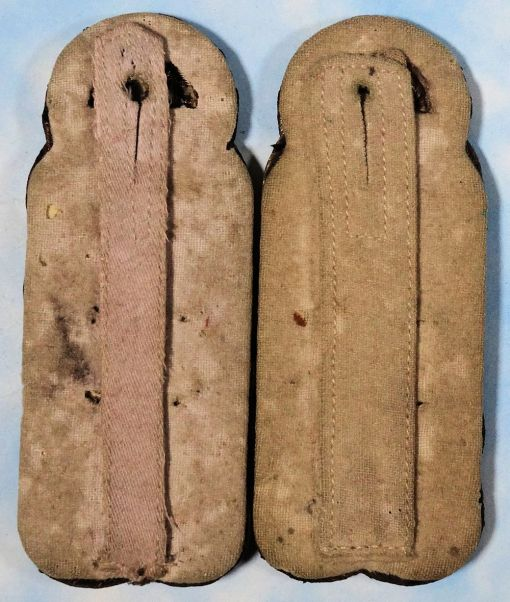 PRUSSIA - SHOULDER BOARDS - MAJOR - Imperial German Military Antiques Sale
