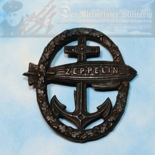 UNOFFICIAL NAVY ZEPPELIN BADGE
