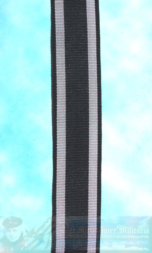 "IRON CROSS - 1914 - RIBBON - 2ND CLASS - RIBBON - NEW/OLD STOCK 6"" SECTION"