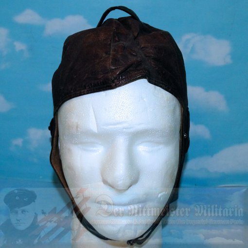 PRUSSIA - LEATHER FLYING HELMET - AVIATION
