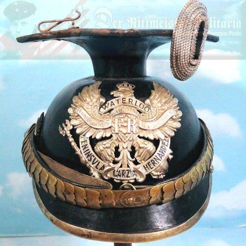PRUSSIA - TSCHAPKA - OFFICER - ULANEN-REGIMENT NR 14