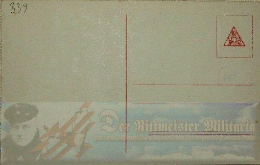 PRUSSIA - SANKE CARD - ALBATROS D. III OR D. V. - AVIATION - NR 1038