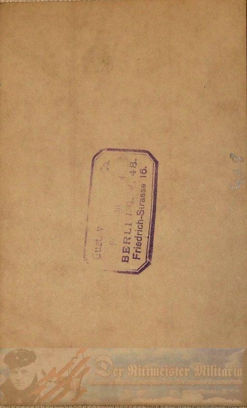 PRUSSIA - POSTCARD - ADMIRAL EDUARD VON CAPELLE - NAVY