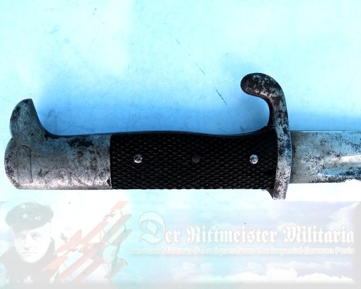GERMANY - BAYONET - PRIVATE-PURCHASE - SAWTOOTH -LUFTSCHIFFER BATAILLON OFFICER - Imperial German Military Antiques Sale