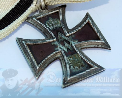 PRUSSIA - HONOR CROSS FOR WOMEN AND YOUNG WOMEN - A.K.A. VIRGINS CROSS - 1871 - Imperial German Military Antiques Sale
