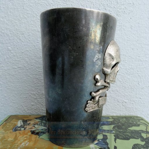 BRAUNSCHWEIG - GOBLET - INFANTERIE-REGIMENT NR 92 - PENINSULA BANDEAU - .35 LITER - Imperial German Military Antiques Sale