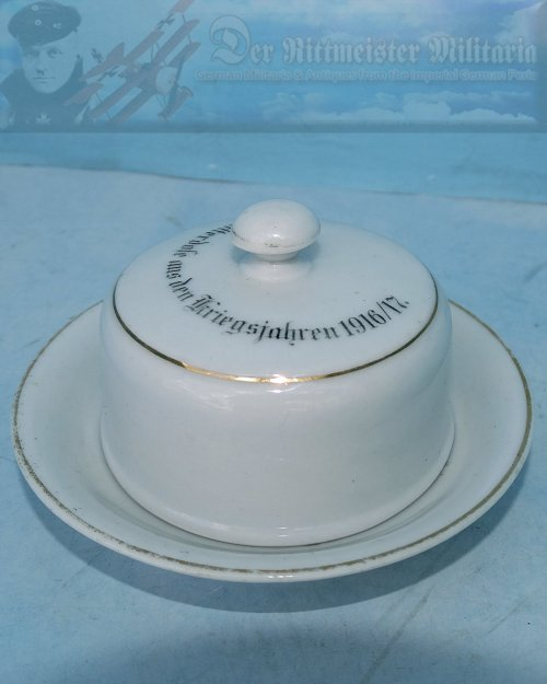 GERMANY - BUTTERDOSE (BUTTER DISH) - SMALL