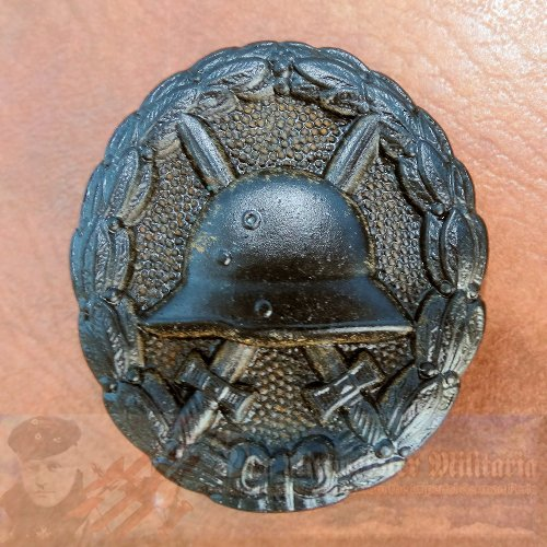 GERMANY - ARMY WOUND BADGE - BLACK - 3RD CLASS