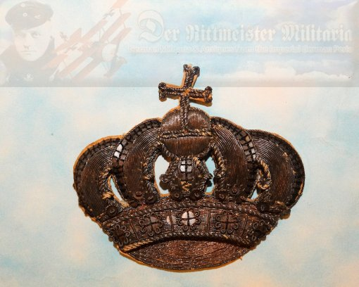 BRAUNSCHWEIG - SADDLE BLANKET EMBLEM - OFFICER - Imperial German Military Antiques Sale