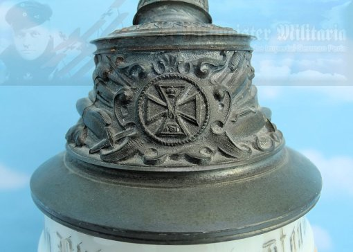 PRUSSIA - STEIN - VETERAN - ARTILLERY - Imperial German Military Antiques Sale