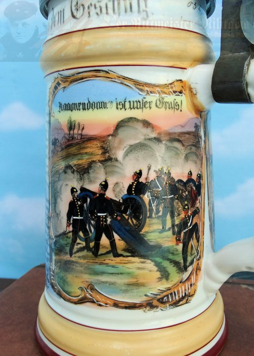 PRUSSIA - STEIN - VETERAN - ARTILLERY - Imperial German Military Antiques Sale