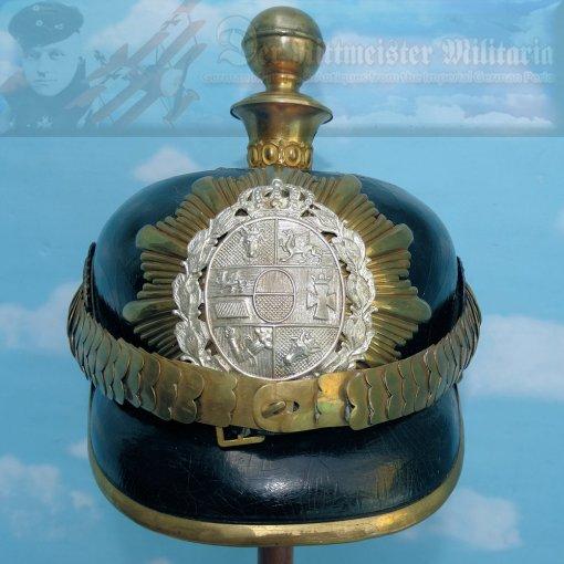 MECKLENBURG-SCHWERIN - KUGELHELM - OFFICER - FELDARTILLERIE-REGIMENT NR 60