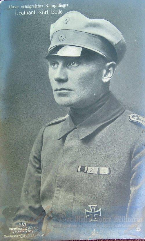 IMPERIAL GERMANY - SANKE CARD - KARL BOLLE - NR 657